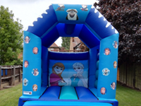 frozen bouncy castle hire nottingham