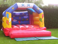 stars and ballppns bouncy castle