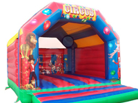 adult circus bouncy castle hire nottingham